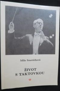 náhled knihy - Život s taktovkou : [vzpomínky na Václava Smetáčka]