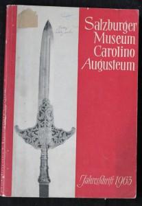 náhled knihy - Jahesschrift 1963: Salzburger Museum Carolino Augusteum