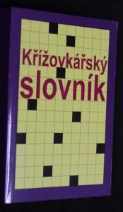 náhled knihy - Křížovkářský slovník