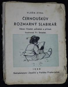 náhled knihy - Černouškův rozmarný slabikář