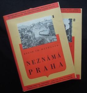 náhled knihy - Neznámá Praha, 2 sv.