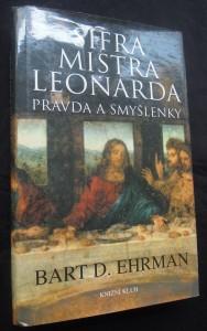 náhled knihy - Šifra mistra Leonarda, pravda a smyšlenky