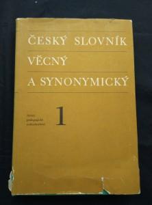 náhled knihy - Český slovník věcný a synonymický I (A4, Ocpl, 348 s.)