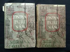 náhled knihy - Londýn patří nám I, II (Ocpl, 926 s., ob,  předs a front. C. a F. Bělský)