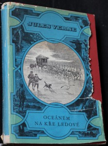 náhled knihy - Oceánem na kře ledové