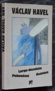 náhled knihy - Largo desolato ; Pokoušení ; Asanace