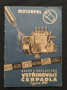 náhled knihy - Návod k obsluze vstřikovacího čerpadla typu PV (Obr, 40 s., XX s. příl.)