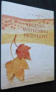 náhled knihy - Legenda svátečního přátelství (včetně věnování a autorova autogramu viz fotografie)