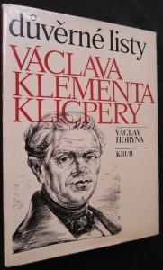 náhled knihy - Důvěrné listy Václava Klementa Klicpery