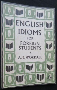 náhled knihy - English idioms for foreign srudents