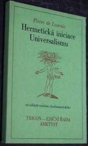 náhled knihy - Hermetická iniciace Universalismu na základě systému rhodostaurického [sic]