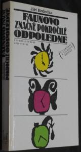 náhled knihy - Faunovo značně pokročilé odpoledne : literární a filmové hříčky