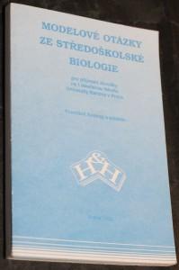 náhled knihy - Modelové otázky ze středoškolské biologie pro přijímací zkoušky na 1. lékařskou fakultu Univerzity Karlovy v Praze