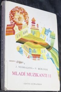 náhled knihy - Mladí muzikanti : knížka o hudbě pro 1. ročník lidových škol umění. 2. [díl]