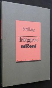 náhled knihy - Heideggerovo mlčení
