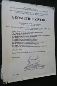 náhled knihy - Matematické modely morfogeneze : sborník přednášek podzimní školy : Geometrie živého