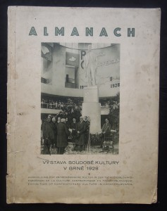 náhled knihy - Almanach: Výstava soudobé kultury v brně 1928