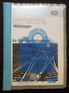 náhled knihy - Steyr: Wälzlager für Schienenfahrzeuge