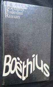 náhled knihy - Boëthius - poslední Říman
