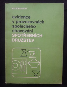 náhled knihy - Evidence v provozovnách společného stravování spotřebních družstev