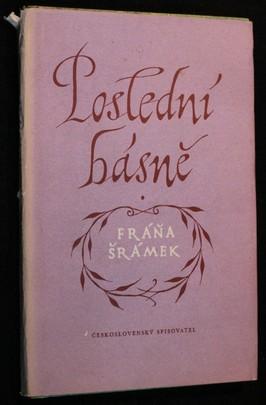 náhled knihy - Poslední básně