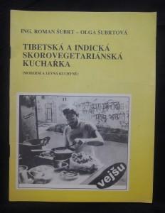 náhled knihy - Tibetská a indická skorovegetariánská kuchařka
