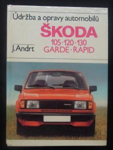 náhled knihy - Údržba a opravy automobilů Škoda 105, 120, 130
