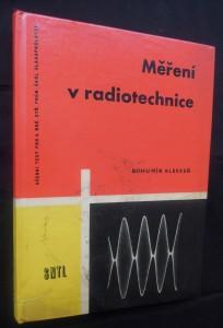 náhled knihy - Měření v radiotechnice