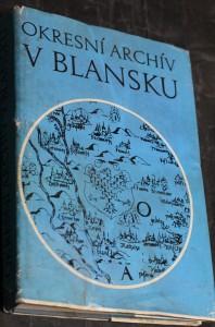 náhled knihy - Okresní archív v Blansku : průvodce po archívních fondech
