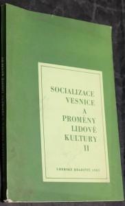 náhled knihy - Socializace vesnice a proměny lidové kultury II