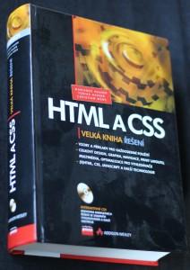 náhled knihy - HTML a CSS : velká kniha řešení