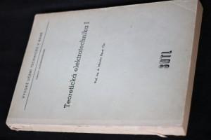 náhled knihy - Teoretická elektrotechnika : Určeno pro posl. elektrotechn. fak. 1. [díl]