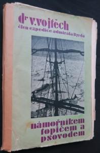 náhled knihy - Námořníkem, topičem a psovodem za jižním polárním kruhem (včetně věnování a podpisu autora)