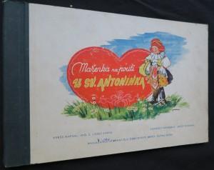 náhled knihy - Mařenka na pouti u Sv. Antonína