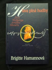 náhled knihy - Hlava plná hudby - Život W. A. Mozarta (A4, pv, 224 s.)