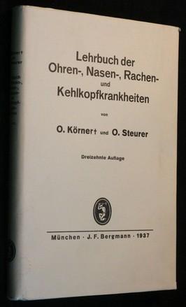 náhled knihy - Lehrbuch der Ohren-, Nasen-, Rachen- und Kehlkopfkrankheiten