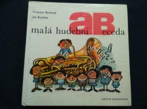 náhled knihy - Malá hudební abeceda (A4, lam, 204 s., ob a il. J. Brychta)