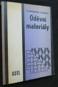 náhled knihy - Oděvní materiály