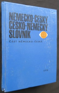 náhled knihy - Německo-český, česko německý slovník: část německo-česká