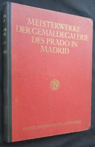 náhled knihy - Meisterwerke Der Gemaldegalerie Des Prado in Madrid