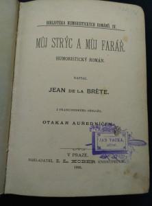 antikvární kniha Můj strýc a můj farář, 1893
