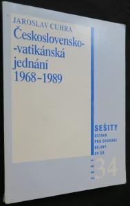 náhled knihy - Československo-vatikánská jednání 1968-1989 (včetně autorova autogramu)