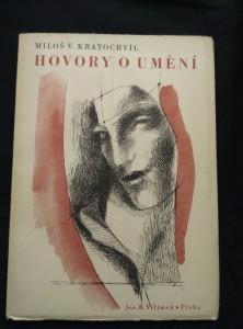 náhled knihy - Hovory o umění (Obr, ob. K. Svolinský)
