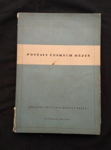 náhled knihy - Postavy českých dějin - katalog výstavy S. V. U. Mánes 1938 (Obr, 174 s., 16 s. obr příl., ob a typo F. Muzika)