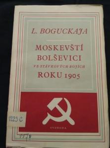 náhled knihy - Moskevští bolševici ve stávkových bojích roku 1905 (Obr, 202 s.)