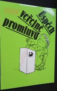 náhled knihy - Úspěch veřejné promluvy : kapitoly z rétoriky