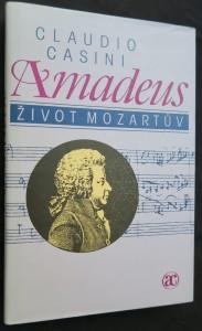 náhled knihy - Amadeus : život Mozartův