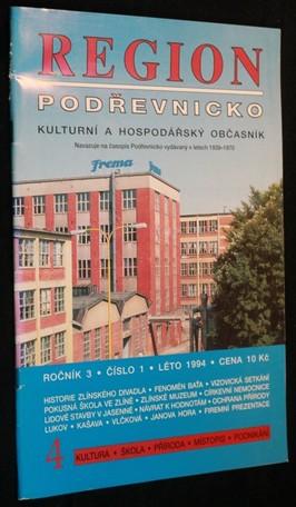 náhled knihy - Region Podřevnicko, ročník 3, č. 1, 1994