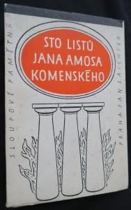 náhled knihy - Sto listů Jana Amosa Komenského