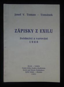 náhled knihy - Zápisky z exilu